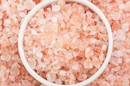 Himalayan salt granules