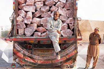 A shipment of Himalayan Salt Blocks